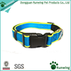 Nylon webbing adjustable reflective neoprene padded dog collar