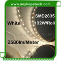 High efficiency 120leds 26.4w per 5meter led strip connector clip