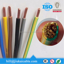 600V UL Type PVC Insulated Flexible THW Cable 8AWG