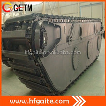 For 20t PC excavator assembly doosan motor better welded amphibious pontoon in Hefei Anhui