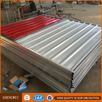 Construction Site Temporary Steel Hoarding Fence Panel Designs