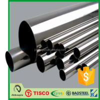 304L 4 Inch Decorative Stainless Steel Pipe Tube for drinking water