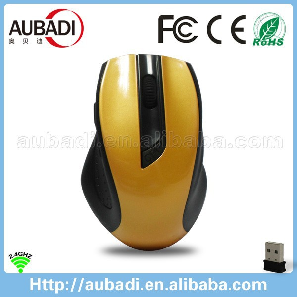 high -tech Unique factory price 2.4G Wireless Mouse with Nano Receiver for PC