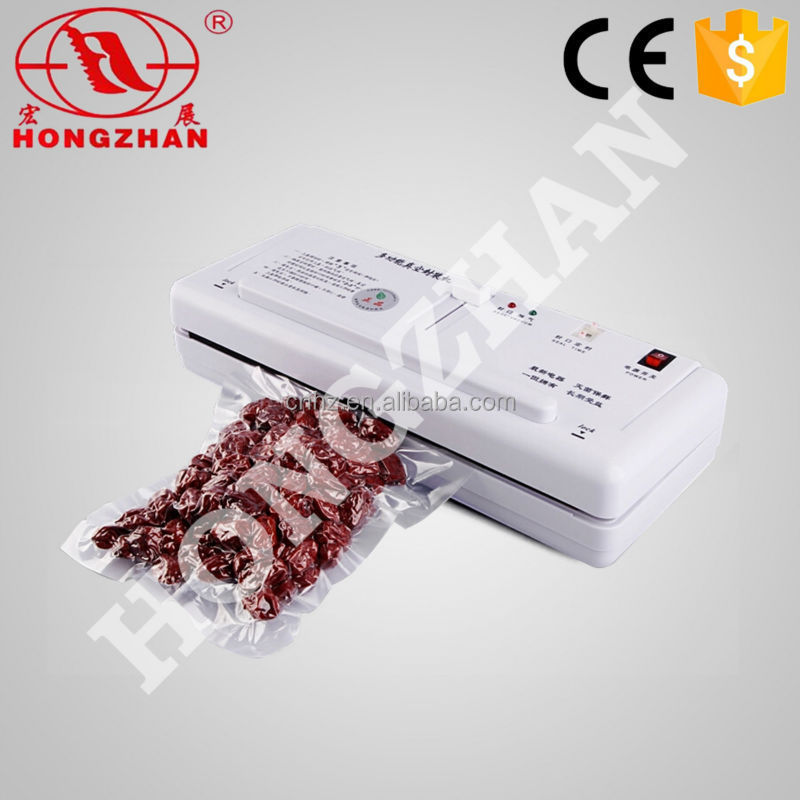 DZ 280 wholesale hongzhan portable home use vegetable rice meat food small easy vacuum packer
