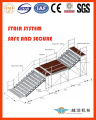 basketball bleacher metal folding bleachers With Good After-sale Service