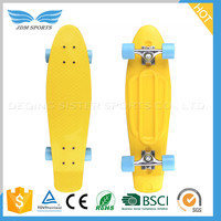 Fish Board Cruiser Glow In The Dark plastic skateboard