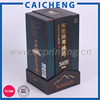 Cardboard Single Bottle Paper Wine Packaging Box