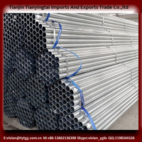 galvanized fence/greenhouse gi pipe