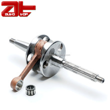 Motorcycle Engine Forged Steel Crankshaft, Hot Sale Crankshafts For Typhoon Storm Runner 50cc Scooter Piaggio Sfera Vespa Et2