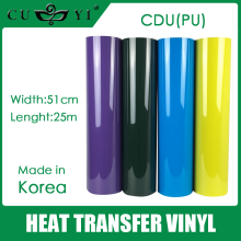 PU heat transfer vinyl high quality made in korea