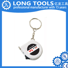 Promotional mini 1m animal shaped tape measure with key chain