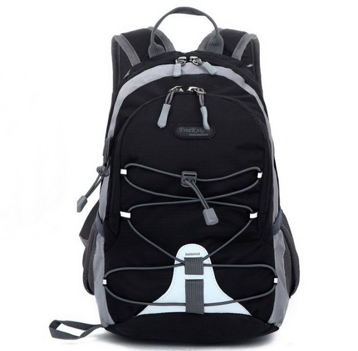 Trendy outdoor portable travel hiking backpack sport back pack bag with PP string
