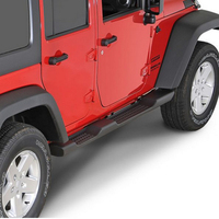 Jeep Wrangler Side Step Factory Style Plastic