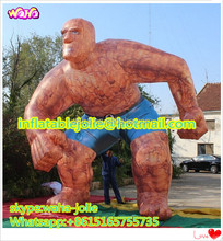 cartoon figure model 4.5m high outdoor advertising giant inflatable real man