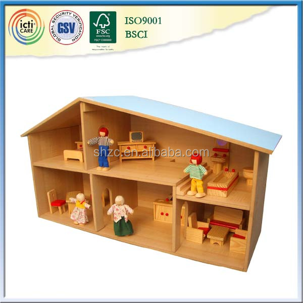 With colorful and cool play house,complimentary gift