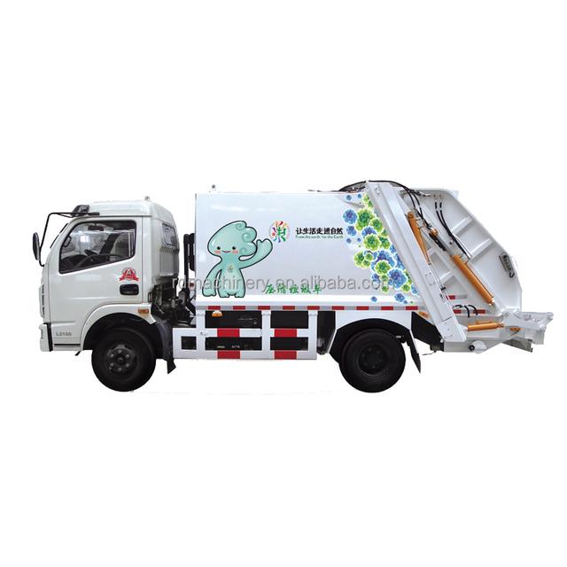 garbage compactor truck / dustcart