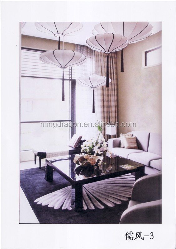 Chinois suspendu lanterne en tissu pour la d coration d - Lanterne interieur decoration ...