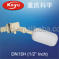 "1/2"" Plastic Float Valve For various Water tank equipment"
