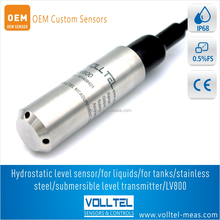 level transmitter for Engine oil / water tank and cooling system oil level transducer gear oil level sensor