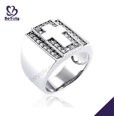 2013 wholesale fashion gift jewelry silver catholic rosary rings