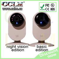 Genuine wireless CCTV IP camera for Xiaomi yi smart webcam with remote control