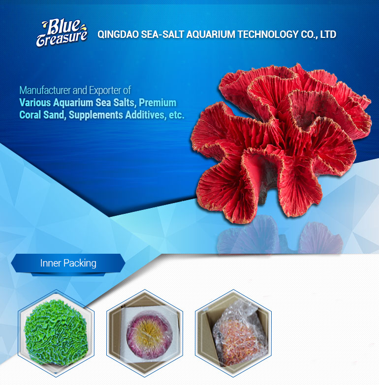 China blue treasure beauty marine aquarium coral artificial