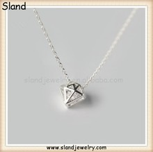 Diamond pattern 925 silver jewelry MOQ 100 pieces accepted, hot sale product for import