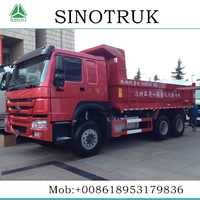 HOWO Brand export 10 wheelers dump truck for myanmar