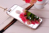 Superior Quality Electroplate Aluminum Metal Bumper Cover Mirror Case for iPhone 5