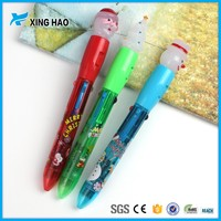 Excellent Fashion promotional cheap animal head plastic ballpoint pen from china stationery supplier