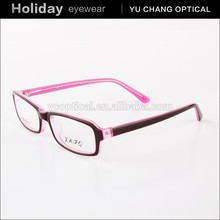 Latest Trendy Spectacles frame plastic Optical frames wholesale