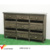 Chalkboard Label Drawers Rustic Real Wooden Cabinet Sideboard