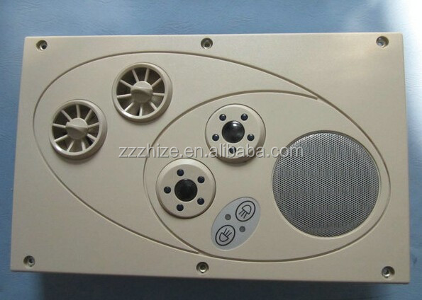 bus coach spare parts bus air outlet with reading light for Higer Suzhou jinlong