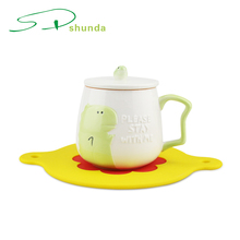 New Product Hot Sale High Quality Mug Heating Heat Resistant Anti Slip Silicone Table Cup Mat Pad