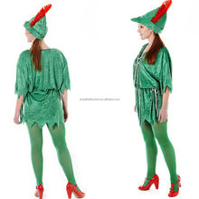Ladies Fancy Dress adult carnival Costume Womens Pixie Fairy Elf costume BP1595