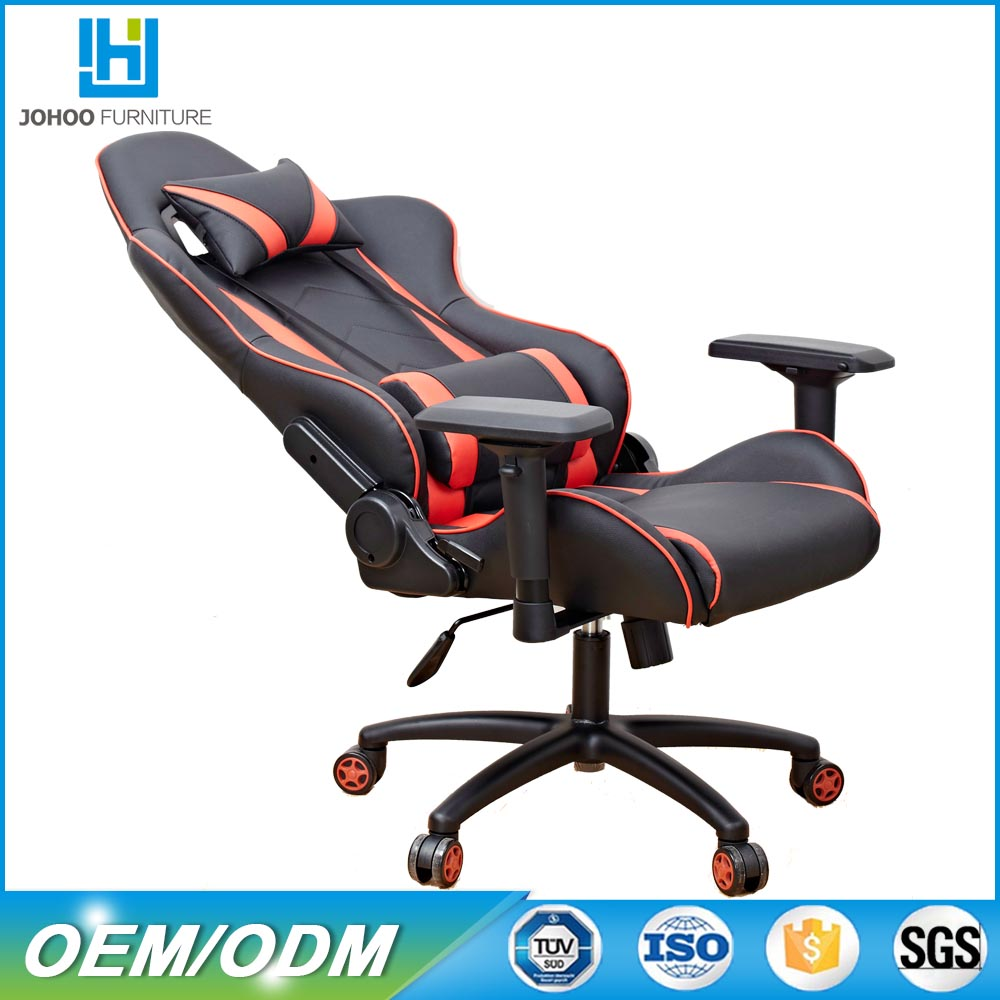 White frame Cheap racing office chair/office chair ergonomic/Gaming chair racing for gamer