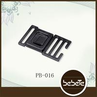 whoesale high quality bag accessory plastic buckle