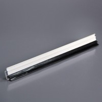 Double glass or singal glass profile upvc glazing beads for casement window and sliding windows
