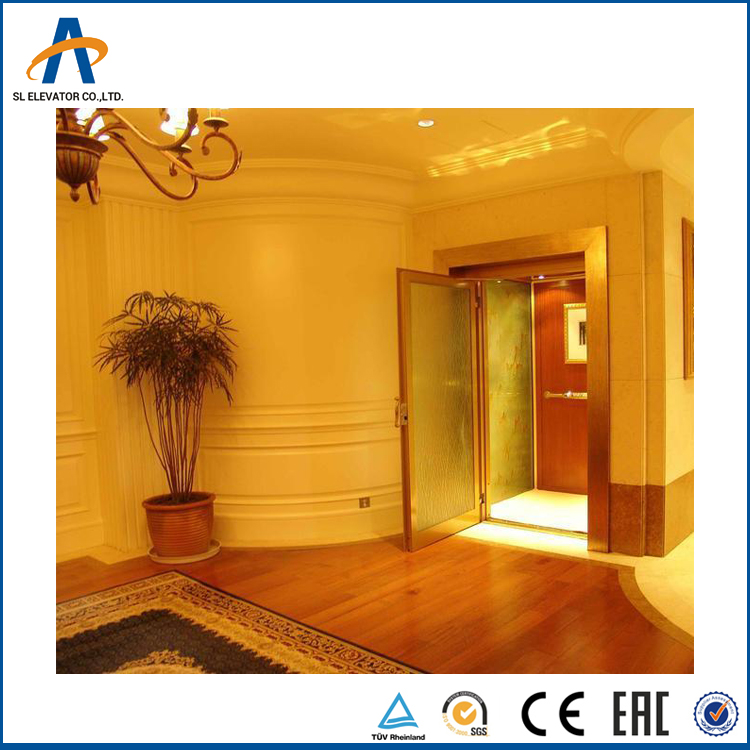 SL Luxury Small Home Villa Left Elevator for 2 person with China factory good price