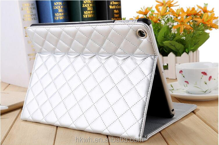 Good quality tablet cover leather case for Apple iPad Air 2 with many stand ways