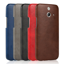 wholesale mobile phone case for HTC ONE E8 ultra thin tpu+pu shockproof cover
