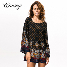 plus size women Baroque print vintage formal dresses for middle aged women