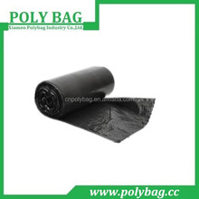 Black cheap plastic swing bin liners on roll/trash bags