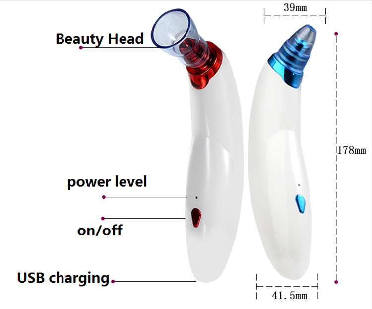 high quality suction blackhead remover  cleaner vacuum for women