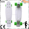 Colorful plastic skateboard with customized logo