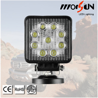 China Manufacturer Directory ! 27W led square working light , 27W led work light offroad truck atv 4x4 27 watt
