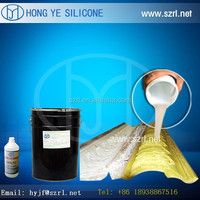 RTV 2 silicone rubber to make silicone molds for gypsum figures