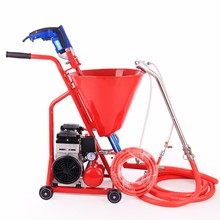 waterproofing coatings mortar plastering cement spraying machine