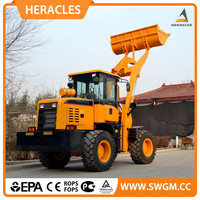 2015 new product chinese skid steer loader heracles brand hr928L