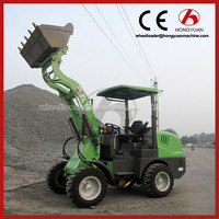 small farm machine tractor with front loader for sale
